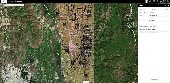 Official Site of Cache County, Utah   Interactive Web Maps